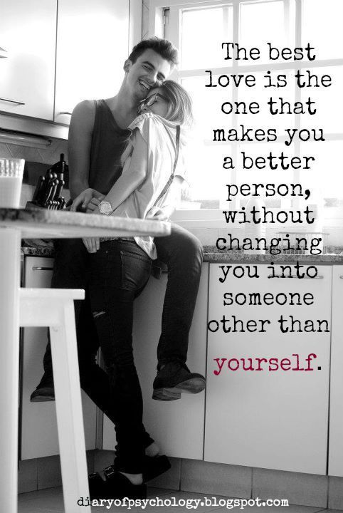 The Best Love Makes You A Better Person