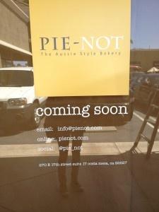 Pie-Not Aussie Style Bakery