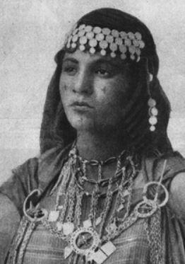 Facial Tattooing of Berber Women – by Sarah Corbett – Ethnic Jewels Magazine
