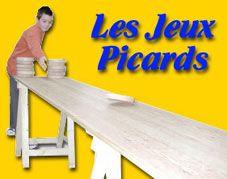 Jeux traditionnels en bois et Jeux anciens de Picardie - Jeux picards et jeux d'antan