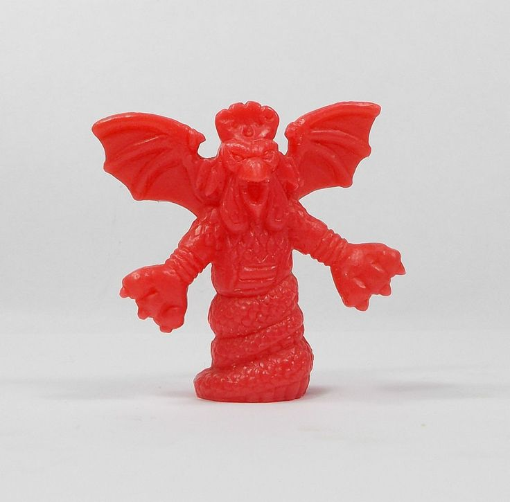 Monster In My Pocket - Series 1 - 7 Cockatrice - Red - Mini Toy Figure