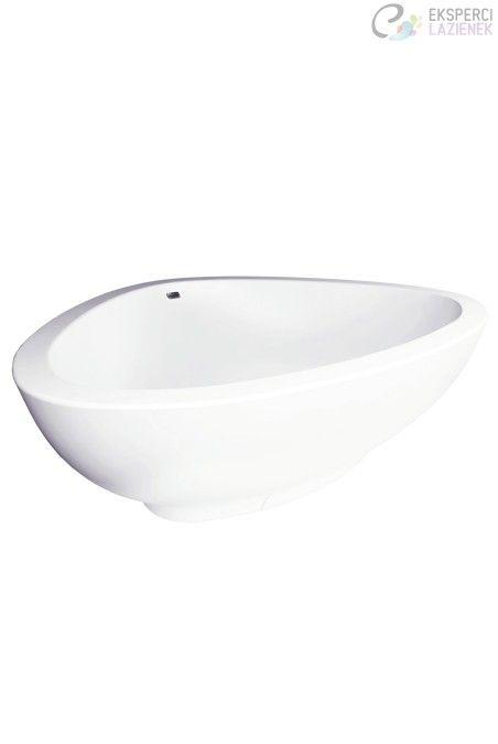 Wanna wolnostojąca 1900 mm biała Axor Massaud 18950000