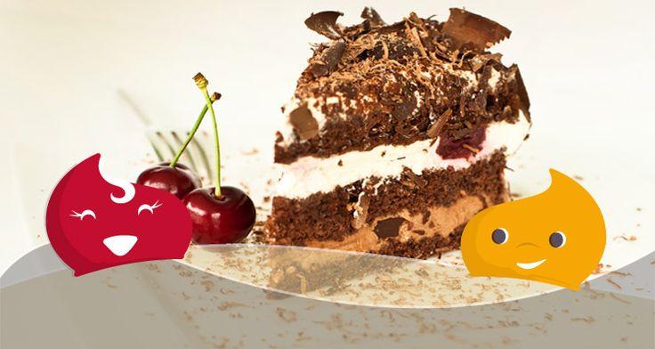 #OroscopoDolce - La #torta giusta per i nati sotto il segno del #Leone: la Foresta Nera! #ricetta