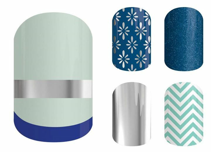 Jamberry Pairings | SoNailicious x Jamberry Mint French Twist