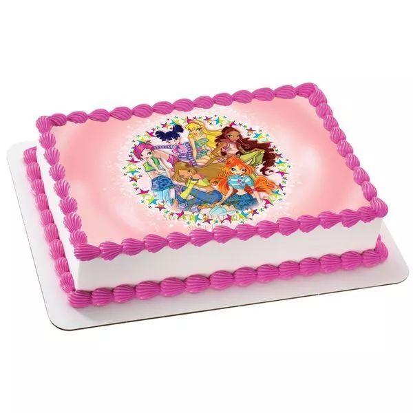 τούρτες γενεθλίων :: τούρτες για κορίτσια :: WINX 2