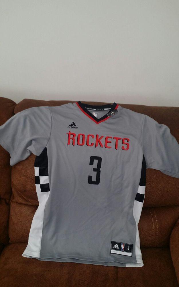 new product f2958 e0515 adidas Houston rockets short sleeves NBA ryan Anderson #3 ...