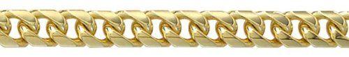 Bracelet - GCLC208 - Pulsera de hombre de oro amarillo (9k), 22 cm