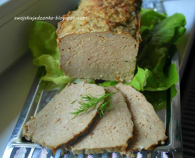 Swojskie jedzonko: Pieczony pasztet,delikatny i idealny na kanapki