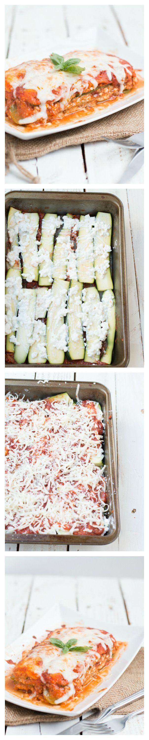 How to make perfect zucchini lasagna.