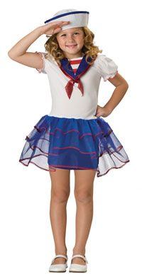 Girls Sweetheart Sailor Costume - Sailor Costumes