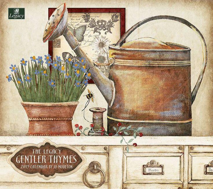 Gentler Thymes 2015 wall calendar