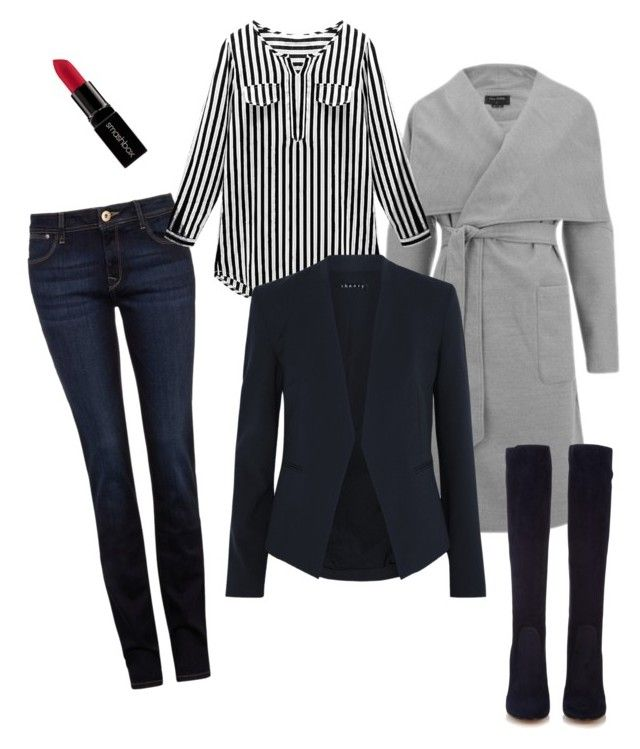 """""""Untitled #10"""" by risha69 on Polyvore featuring DL1961 Premium Denim, Theory, Gianvito Rossi, Smashbox, women's clothing, women, female, woman, misses and juniors"""
