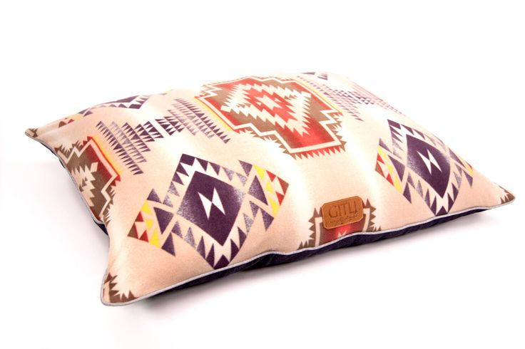 Gitli Goods - The Camp Bed (Cream), $185.00 (http://www.gitligoods.com/southwestern-dog-bed/)