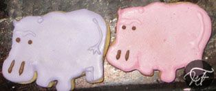 Animal-shaped Sugar Biscuits   What Francie Made