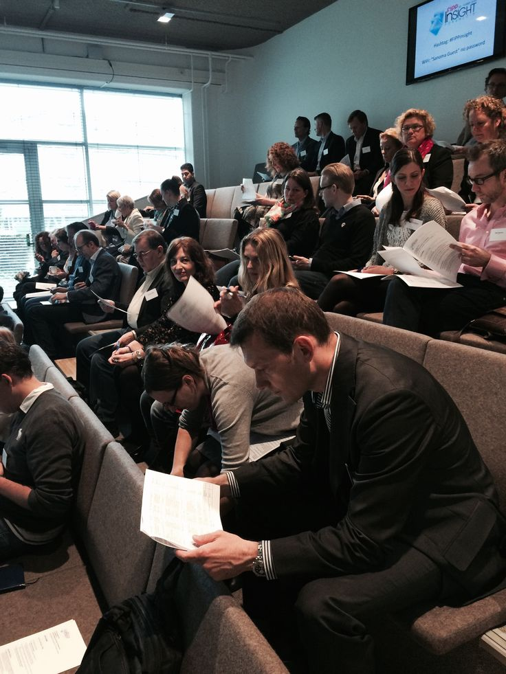 Delegates at the FIPP Insight Forum. 18-19 May, 2015 at #Sanoma offices in #Amsterdam. #magazine #media #research #insight