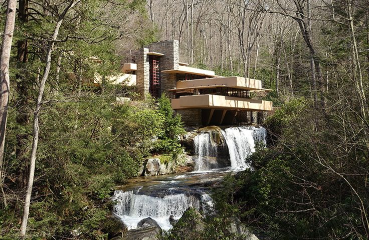 Fallingwater by Frank Lloyd Wright, InForm | News