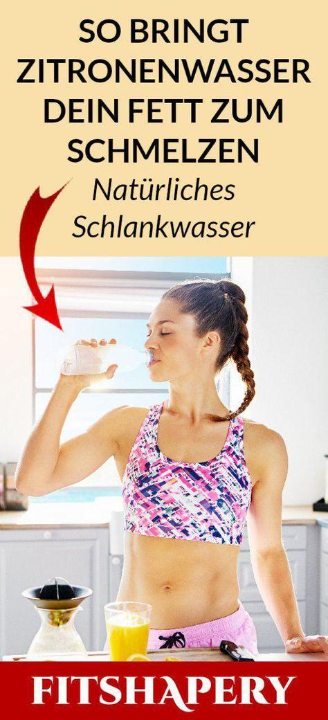 Morgens Zitronenwasser zu trinken soll beim Abnehmen helfen und den Stoffwechsel…