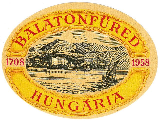 Luggage Label / Hungaria