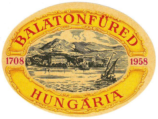Luggage Label / Hungaria