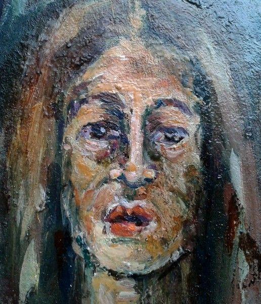 Pintura al óleo - serie_miniaturas retratos - hecho a mano por kodina en DaWanda