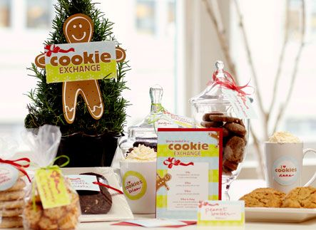 Christmas Cookie Exchange Party Kit