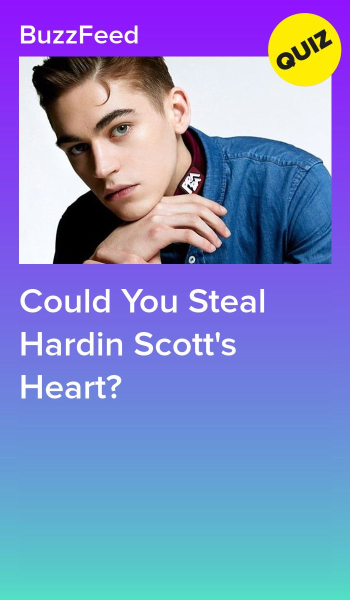 Could You Steal Hardin Scott's Heart? in 2019 | After Series