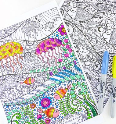 24 Best Coloring Pages Tutorials Images On Pinterest
