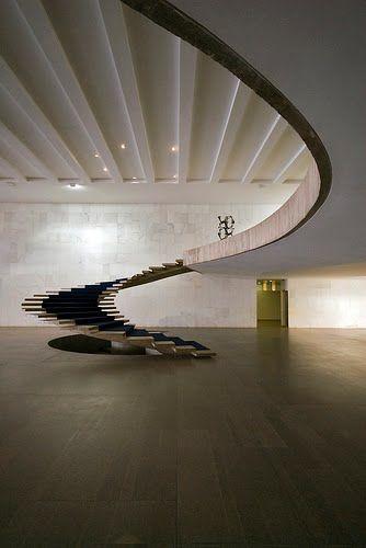 Palácio Itamaraty by Oscar Niemeyer, Brasília, Brazil