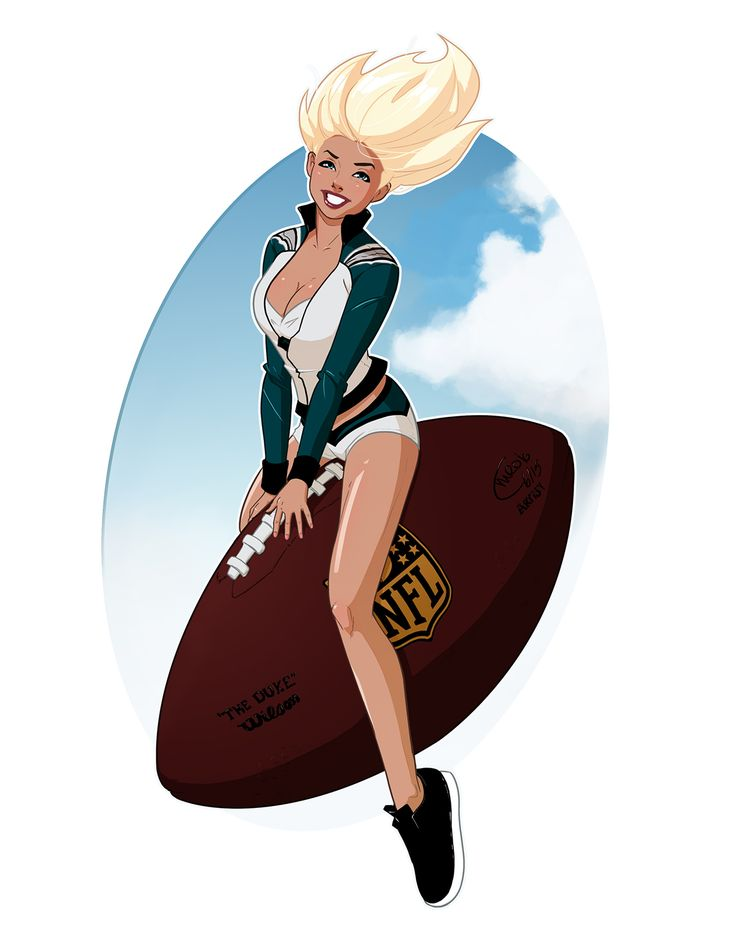 Philadelphia Eagles Cheerleader Commission on Behance