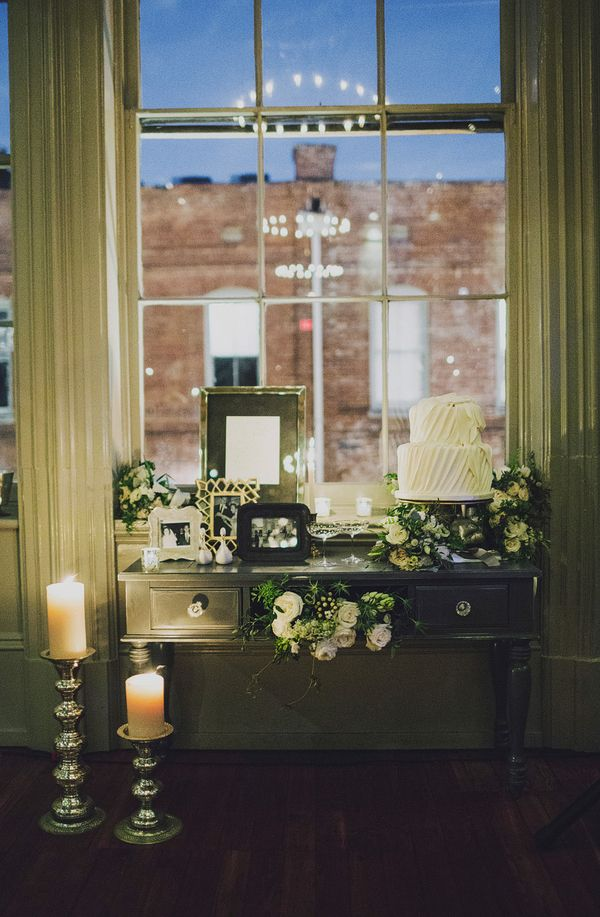 lovely cake table | Ariel Renae #wedding