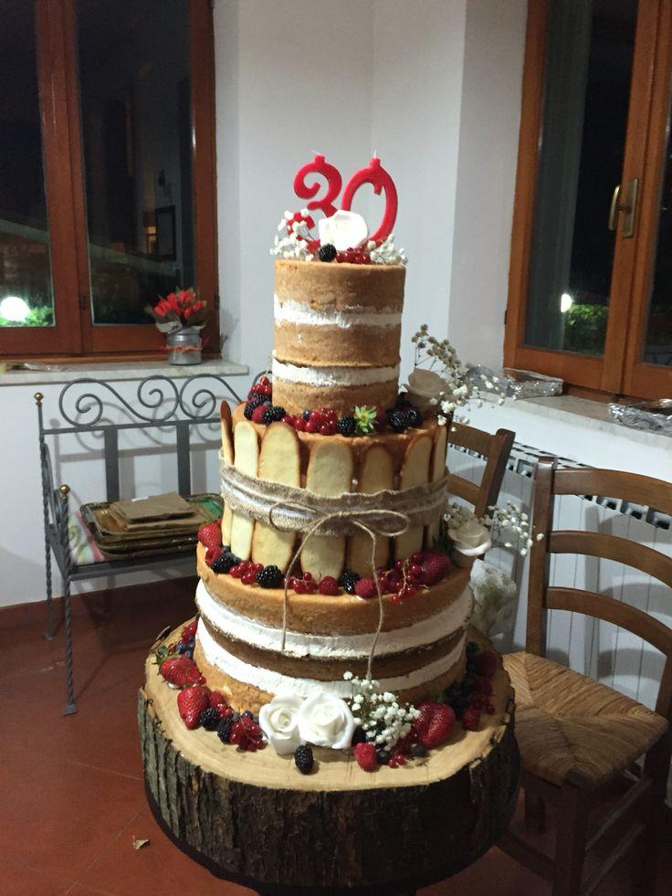 La mia prima naked cake.....soddisfattissima....