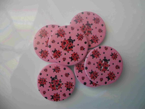Check out this item in my Etsy shop https://www.etsy.com/uk/listing/198044838/pack-of-6-x-pretty-wooden-pink-and-red