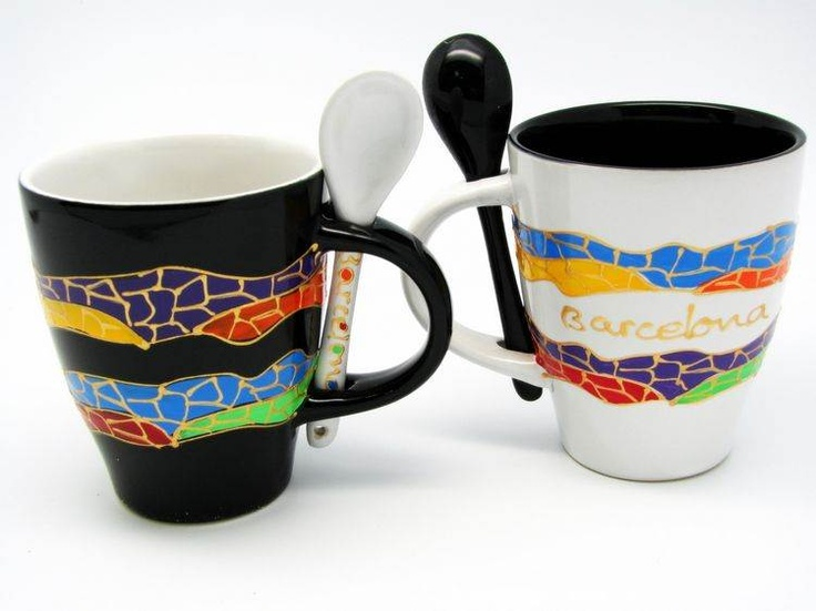 1000 images about gifts souvenirs of barcelona and for Mug barcelona