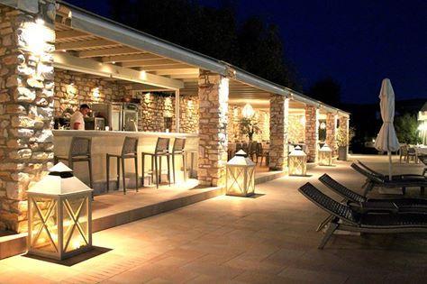 The Pool Bar - Restaurant @ Saint Andrea Resort !!!
