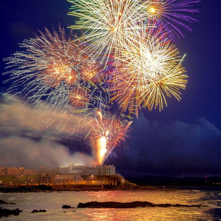 Red Sails Fireworks Display Portstewart 2014
