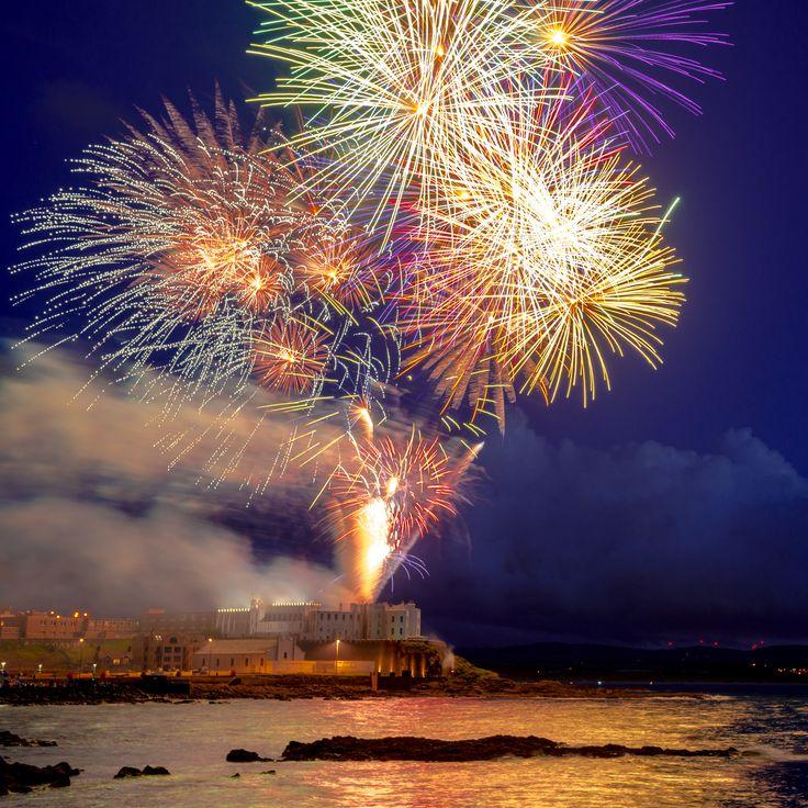 Red Sails Fireworks Display Portstewart 2014