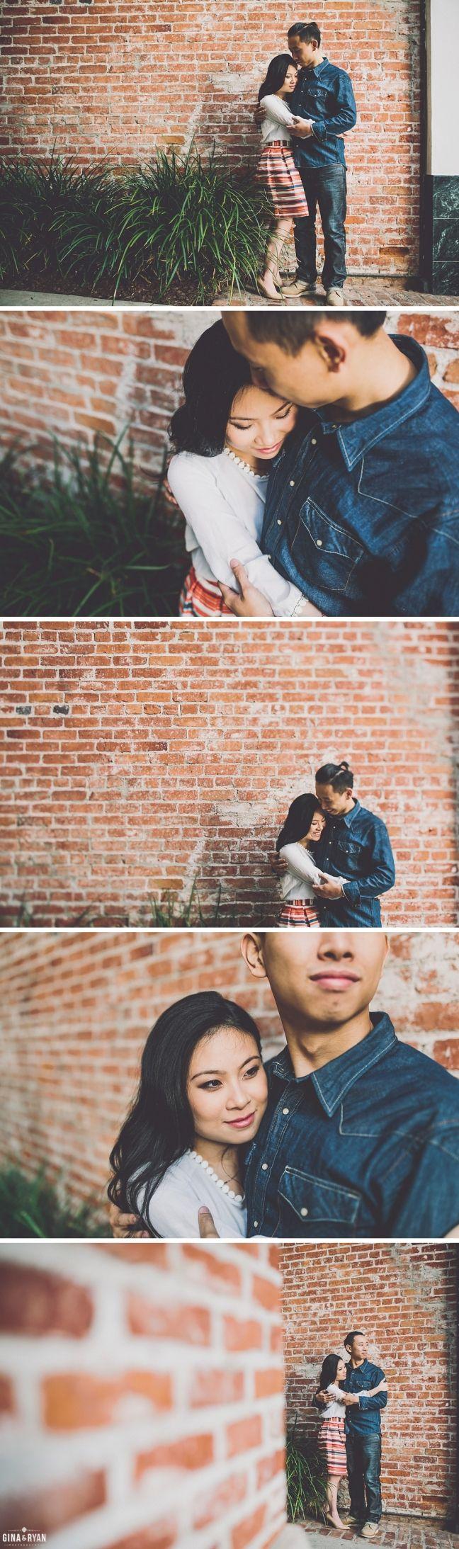 Urban Santa Monica Engagement Photos