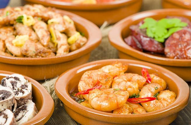 Top 10 Fall Trips for Food Lovers   Fodors Logrono, Spain-tapas hopping Calle Laurel & Calle San Juan
