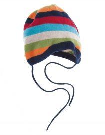 Frugi | Freddie #Hat | #Rainbow #Stripe | HAA402 - #HerbertandStella #Frugi #Yorkshire #kids #clothes #boutique #shop