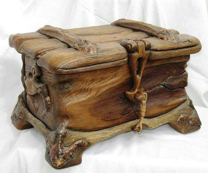 Neat wooden box. For the past several weeks Brandon had worked up his nerve to correspond with one Molly Weasley.  He asked if she still had anything of Gideon's lying around for Bryan.  After Molly recovered from her surprise that her nephew was not living with his uncle she sent this box.  Brandon is not sure what is in it but it is not Gid's watch--that's a gift for another time.