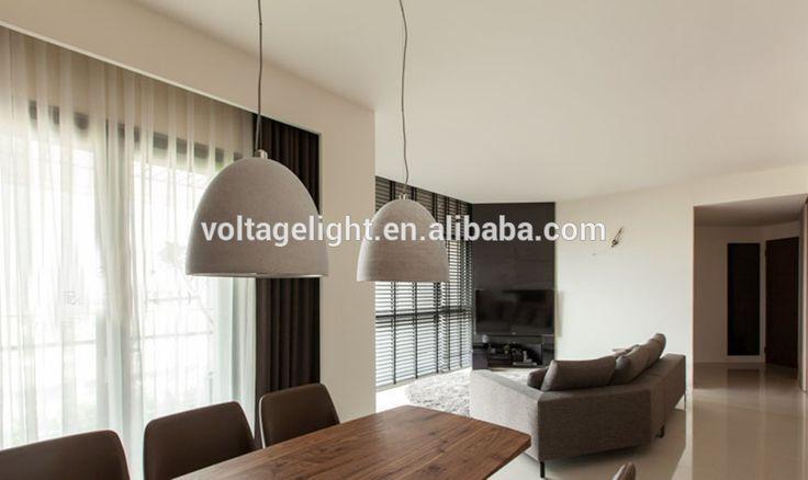 2015 nieuwe producten industriële beton hanglamp met led lampen indoor mooie decoratieve opknoping lampen