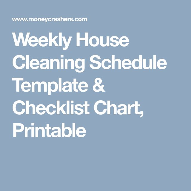 Best 25+ Weekly house cleaning ideas on Pinterest House cleaning - weekly checklist