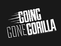 Process video for awesome typography covered gorilla