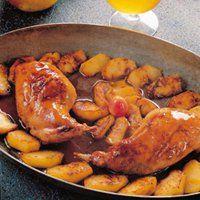 Une délicieuse recette de lapin de garenne à la flamande pour les chasseurs. Du lard, des échalotes et de la moutarde pour une viande goûteuse et savoureuse à déguster avec de la bière.