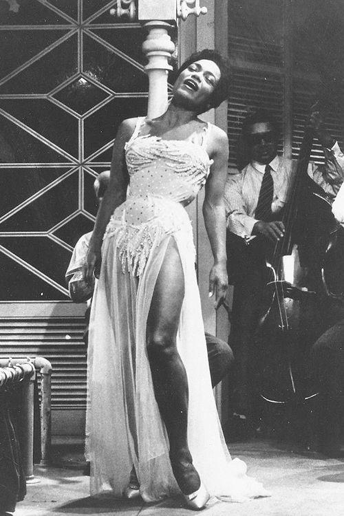 Eartha Kitt in St. Louis Blues, 1958