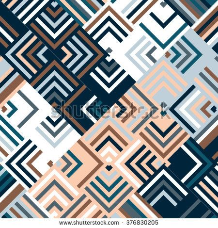 Vector silver pattern. Geometric color background