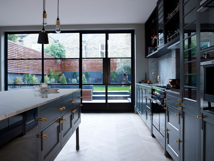 The Victorian Terrace / Hackney Kitchen / Crittle Doors by Buster + Punch