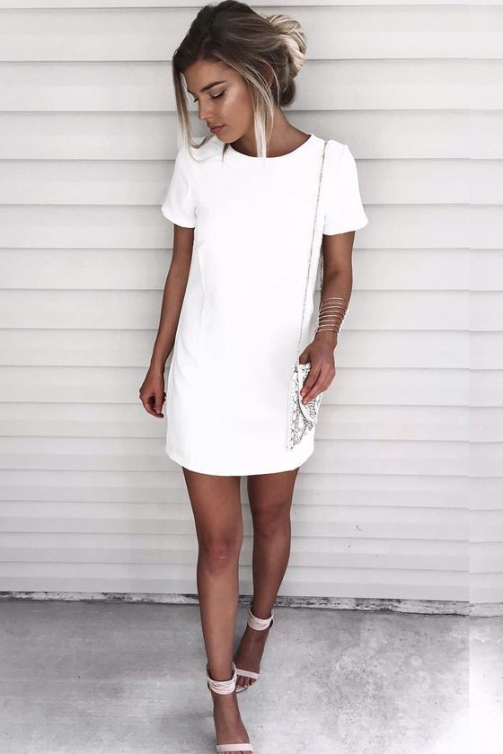 Shift And Shout Ivory Dress Dresses Pinterest Fashion Outfits