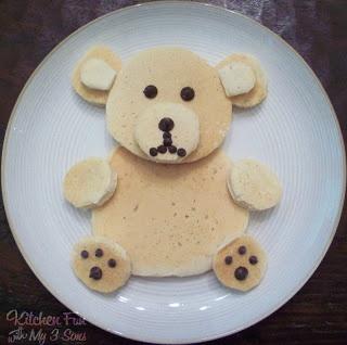 Dinosaur Tortillas and Teddy Bear Pancakes