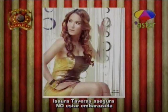 Isaura Taveras Asegura No Estar Embarazada #Video